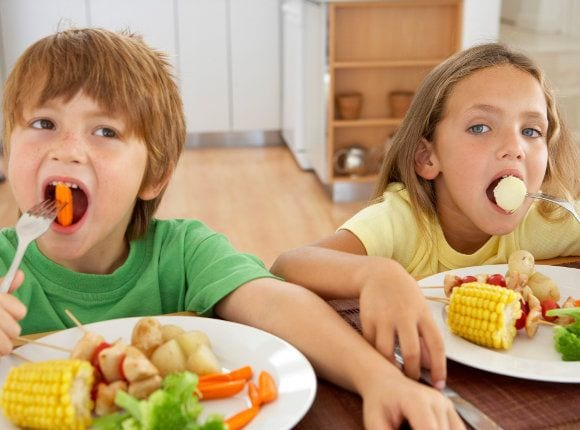 Dieta rica y variada para tus hijos