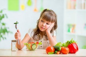Comida sana en la infancia