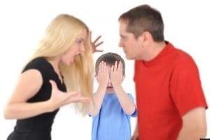 No discutir delante de los hijos