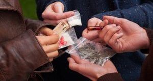 Consumo de drogas variado