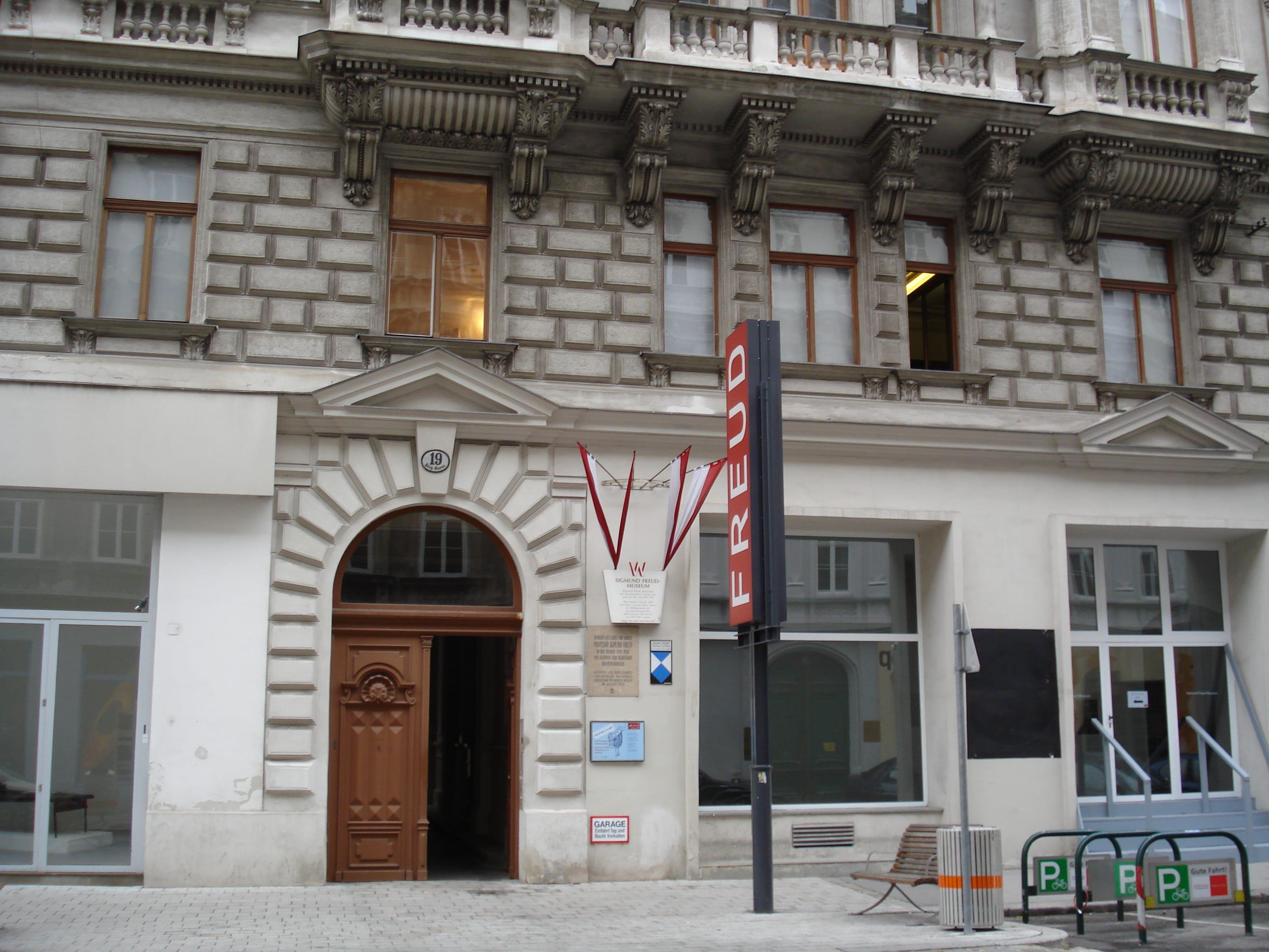 Consulta de Sigmund Freud en Viena
