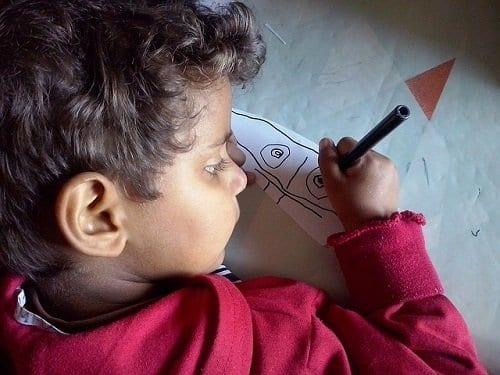 Los dibujos infantiles como una forma de expresión