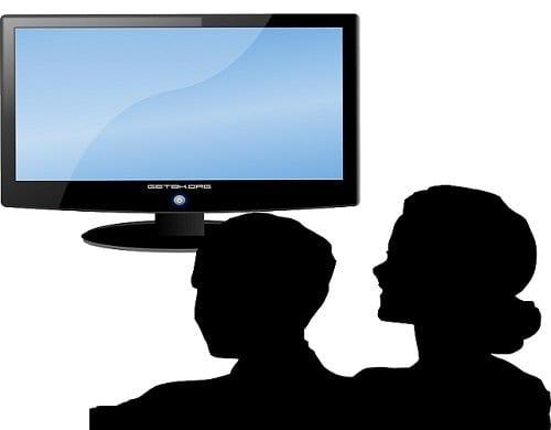 La pareja y la televisión