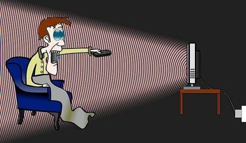 La televisión crea dependencia