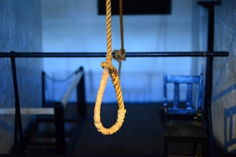 El Suicidio. Tipos. Ahorcamiento