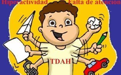 Hiperactividad infantil. TDAH: Causas, síntomas y tratamiento