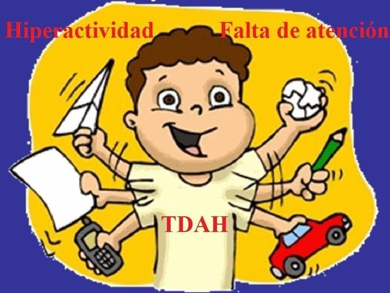 TDAH Niño con hiperactividad