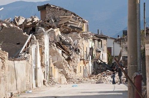 Trastorno de estres postraumatico Causas Terremotos