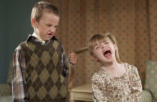 Agresividad - Peleas entre hermanos