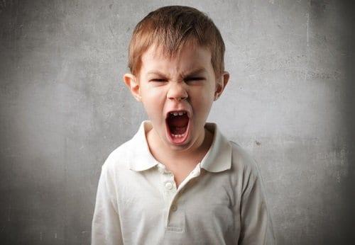 La agresividad en los niños - Rabietas