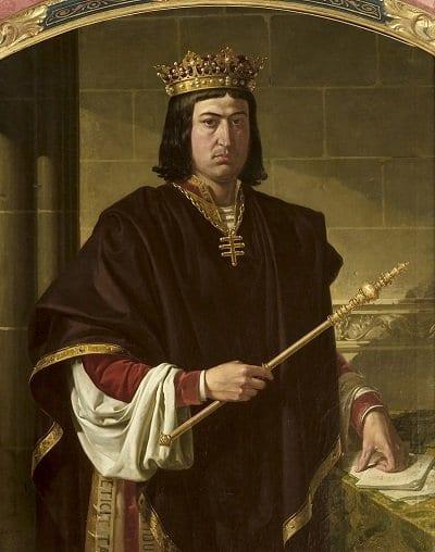 El Rey Fernando el Católico, padre de Juana