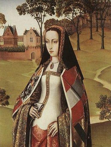 La infanta Juana de Castilla - Retrato del Maestro de Affligem Joseph Sequence