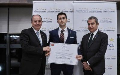 La Medalla de Oro al Mérito en el Trabajo otorgada a Nuestro Psicólogo en Madrid
