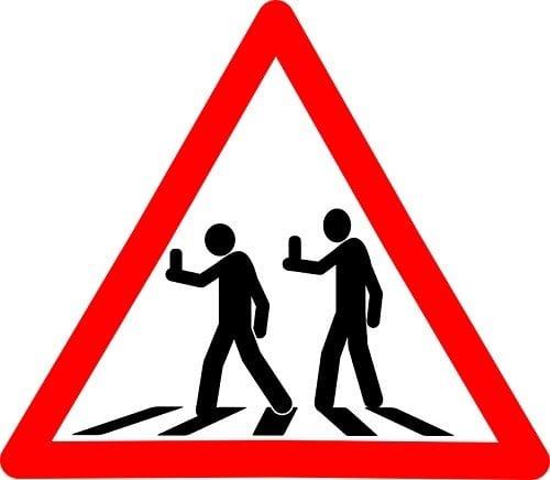 Accidentes de tráfico por distracción con el móvil