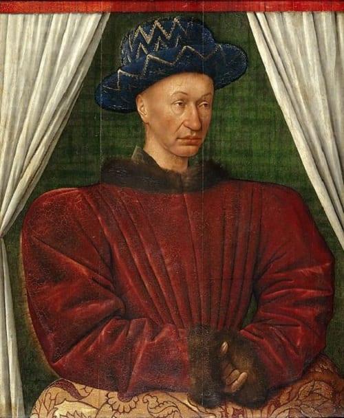 Carlos VII rey de Francia
