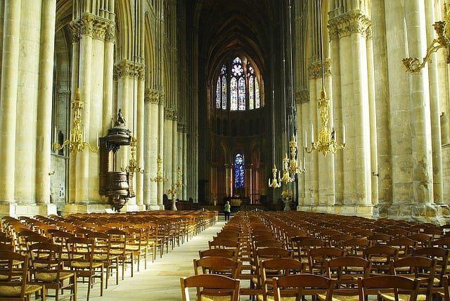 Catedral de Reims - Coronación de Carlos VII