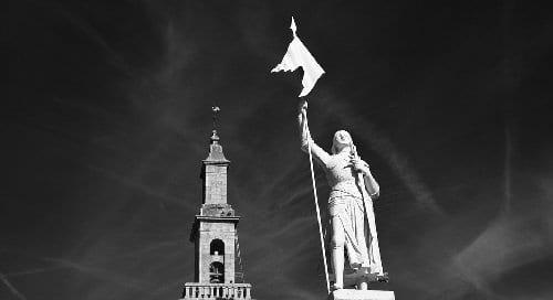 Estatua de Juana de Arco