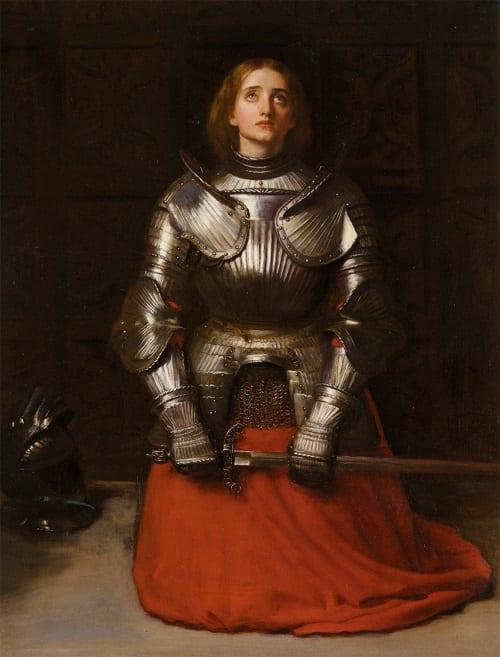 Juana de Arco y el milagro de la espada