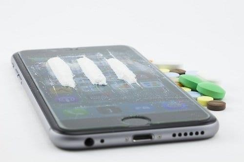 La adicción al teléfono móvil es como la adicción a la cocaina