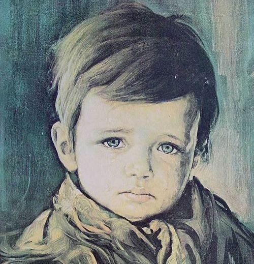 El niño que llora de Bruno Amadio