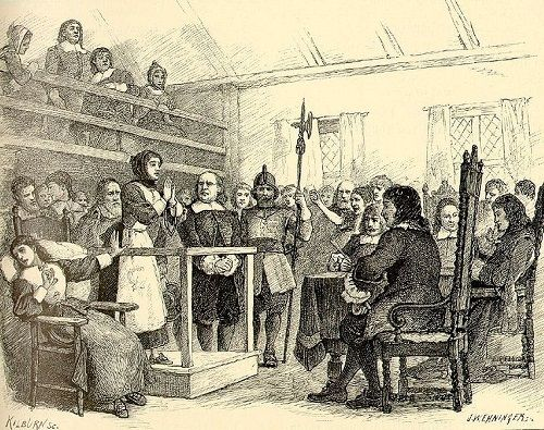 Los juicios de Salem - Martha Corey juzgada