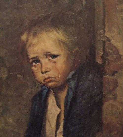 Supersticiones - Cuadros malditos de los niños que lloran