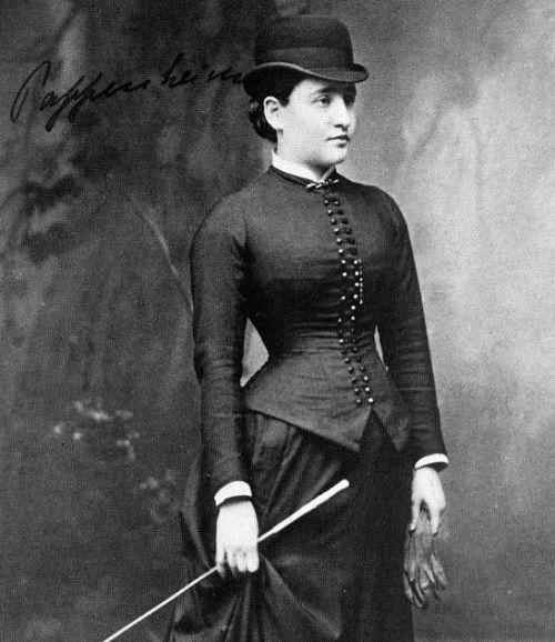 Berta Pappenheim más conocida como Anna O.