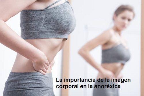 La anorexica valora mucho su imagen