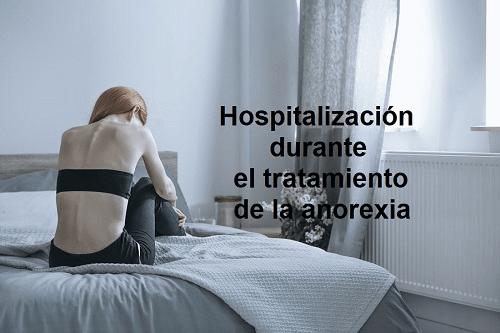 Tratamiento hospitalario de la anorexia