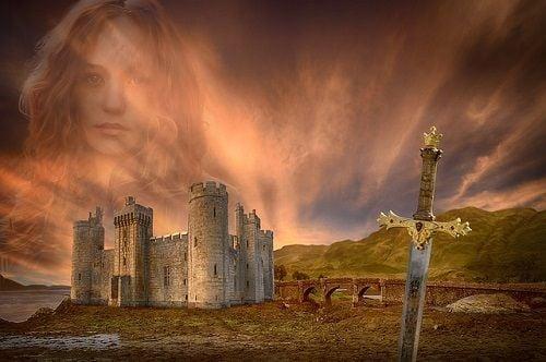El amor medieval: damas, caballeros y castillos.