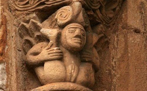 La lujuria del clero en el arte medieval