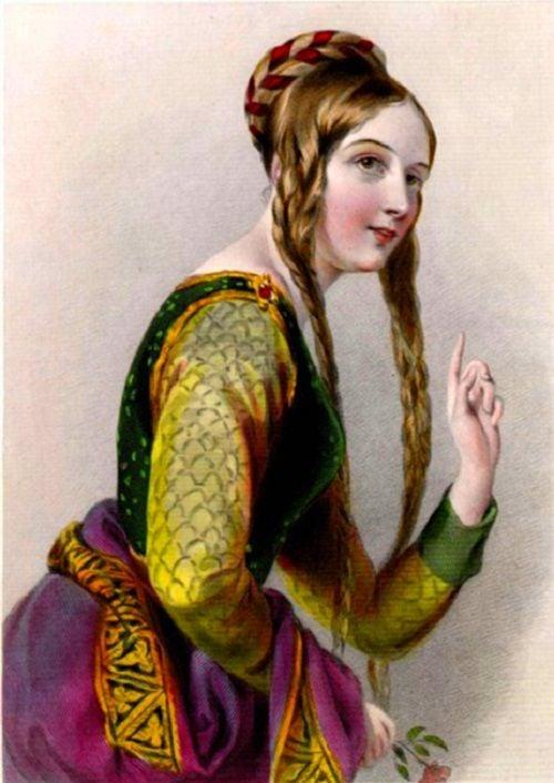 El amor cortés nace en la corte de Leonor de Aquitania