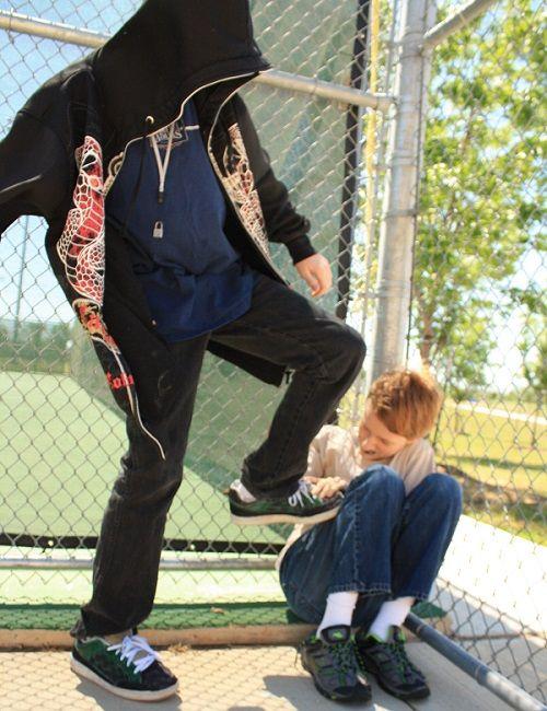 La violencia física es una forma de bullying