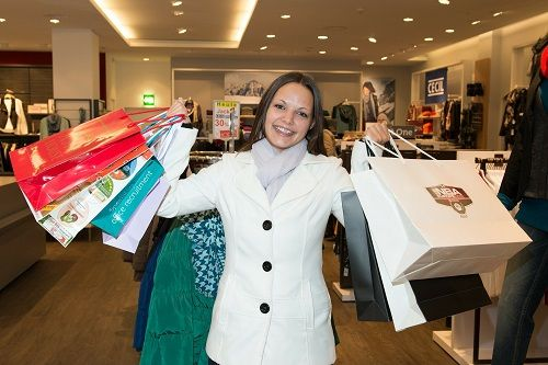 Las mujeres van de compras