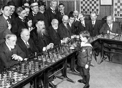 El niño superdotado Samuel Reshevsky